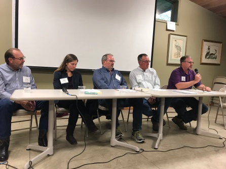A panel of CCL members