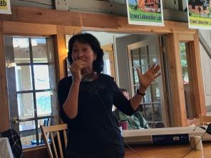 Guest speaker Gloria Shivvers